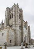 Cathédrale d'Avila, Espagne Photographie stock libre de droits