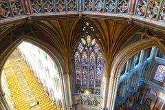 Cathédrale d'Ely photo stock