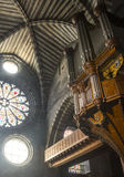 Cathédrale d'Embrun, intérieure Photographie stock libre de droits