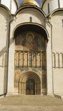 Cathédrale d'hypothèse dans Kremlin à Moscou Images libres de droits