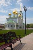 Cathédrale d'hypothèse de Tula Kremlin Image libre de droits