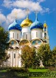 Cathédrale d'hypothèse en Russie Photographie stock