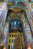 Cathédrale d'hypothèse, Russie Photos stock