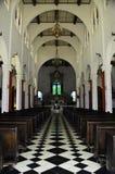 Cathédrale d'Iglesia de Cristo Negro Images libres de droits
