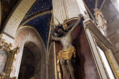 Cathédrale d'intérieur Images stock