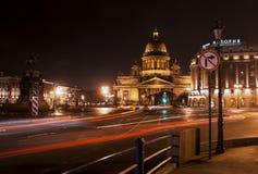 Cathédrale d'Isaakivsky Images libres de droits