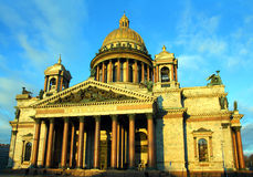 Cathédrale d'Isaakiy à St Petersburg Photo stock