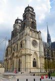 Cathédrale d'Orléans, France Image stock