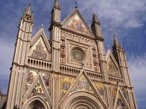 Cathédrale d'Orvieto, Ombrie, Italie Images libres de droits