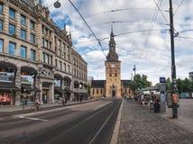 Cathédrale d'Oslo à Oslo, Norvège photos stock