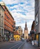 Cathédrale d'Oslo à Oslo, Norvège photographie stock libre de droits