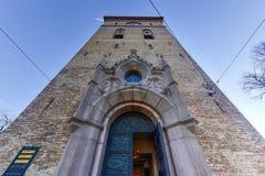 Cathédrale d'Oslo - Norvège image libre de droits