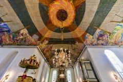 Cathédrale d'Oslo - Norvège photographie stock
