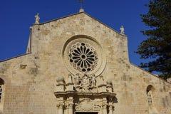 Cathédrale d'Otranto Images libres de droits