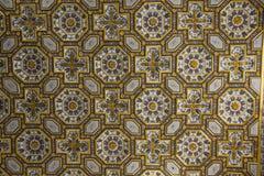 Cathédrale d'Otranto : décorations de plafond de détails photographie stock libre de droits