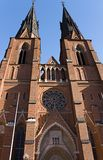Cathédrale d'Upsal Photographie stock libre de droits