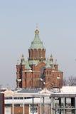 Cathédrale d'Uspenski, Helsinki Images stock