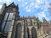 Cathédrale d'Utrecht Images libres de droits