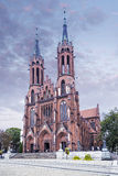 Cathédrale dans Bialystok Images libres de droits