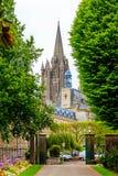 Cathédrale dans Coutances, Normandie, France Photo stock