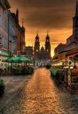 Cathédrale dans Gniezno Images libres de droits