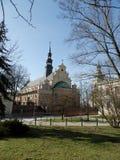 Cathédrale dans Kielce Photo libre de droits
