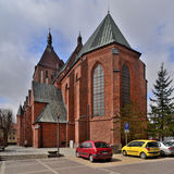 Cathédrale dans Koszalin Image stock