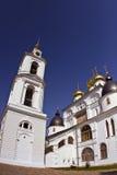 Cathédrale dans Kremlin de Dmitrov Photos stock