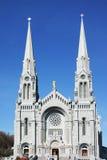 Cathédrale dans le blanc Photo libre de droits