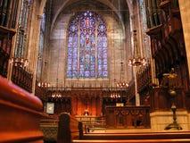 Cathédrale dans le campus de Princeton photographie stock libre de droits