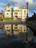 Cathédrale dans les noms de tous les saints images stock