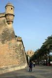 Cathédrale dans Majorca Image libre de droits