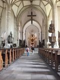 Cathédrale dans Merseburg Photo libre de droits