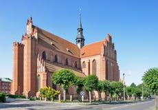 Cathédrale dans Pelplin, Pologne Photos stock