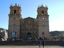 Cathédrale dans Puno, Pérou images libres de droits
