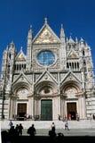 Cathédrale dans Sienna photo stock