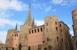 Cathédrale de Barcelone Image stock