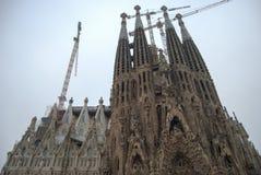 Cathédrale de Barcelone Photos stock