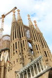 Cathédrale de Barcelone - Espagne Photo stock