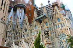 Cathédrale de Barcelone - Espagne Photos stock