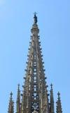 Cathédrale de Barcelone, vieille ville Barcelone, Espagne Images stock