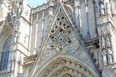Cathédrale de Barcelone, vieille ville Barcelone, Espagne Photographie stock libre de droits