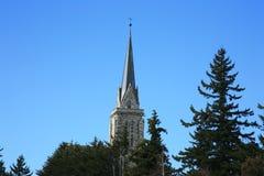 Cathédrale de Bariloche Images libres de droits