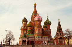 Cathédrale de basilic de saint de Moscou. Photo libre de droits