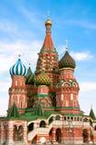 Cathédrale de basilic de saint de Moscou Photo stock