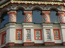 Cathédrale de basilic de St - place rouge de Moscou Photo libre de droits