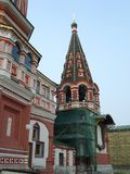 Cathédrale de basilic de St - place rouge de Moscou Images libres de droits