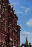 Cathédrale de basilic de St dans la place rouge, Moscou, Russie images stock