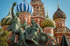 Cathédrale de basilic de St sur la place rouge à Moscou, Russie Photo stock
