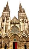 Cathédrale de Bayeux en Normandie image stock